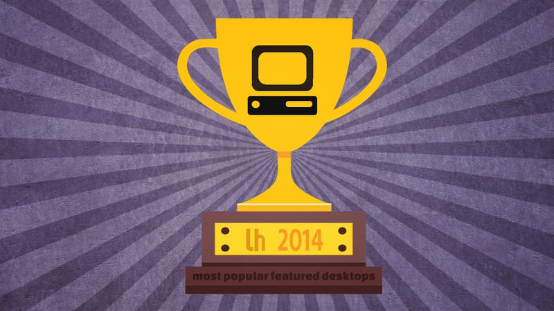 Illustration for article titled Most Popular Featured Desktops and Home Screens of 2014