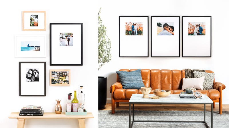 The Organic Gallery Wall | $350 | Framebridge The Triptych Gallery Wall | $450 | Framebridge