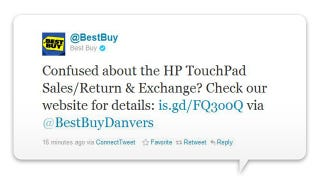Illustration for article titled Best Buy Is NOT Selling Discounted TouchPads