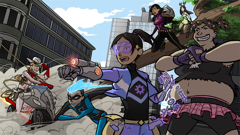 Illustration for article titled New Comic Pitch for a Kick Butt Girl Superhero
