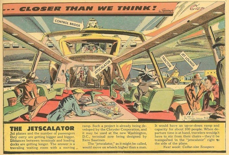 Illustration for article titled Jetscalator (1960)