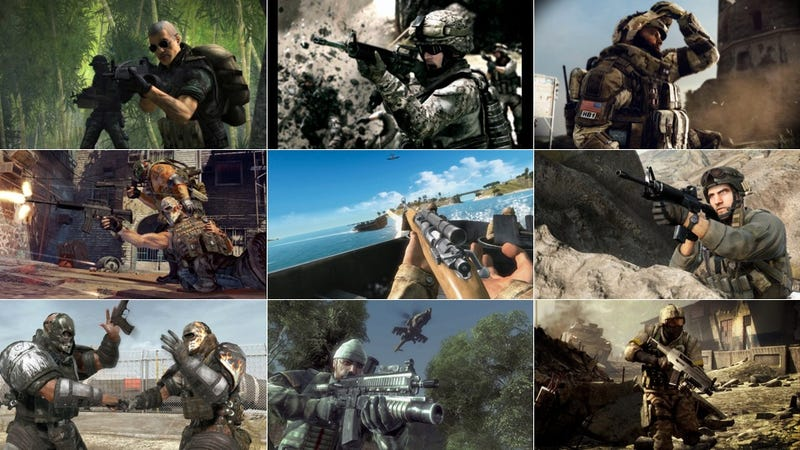Illustration for article titled Congratulations, EA, You Just Released Your 10th  Military Shooter in 5 Years
