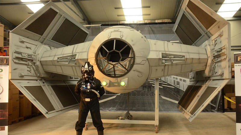 1 4 scale rc pilot with Man Builds Life Sized Tie Fighter Replica 902284832 on Man Builds Life Sized Tie Fighter Replica 902284832 also 1 4 Scale Pa 18 Super Cub Pnp Han4975 moreover Scale Glider Pilot Peter 1 3 5 also Warbirdpilots together with Showthread.