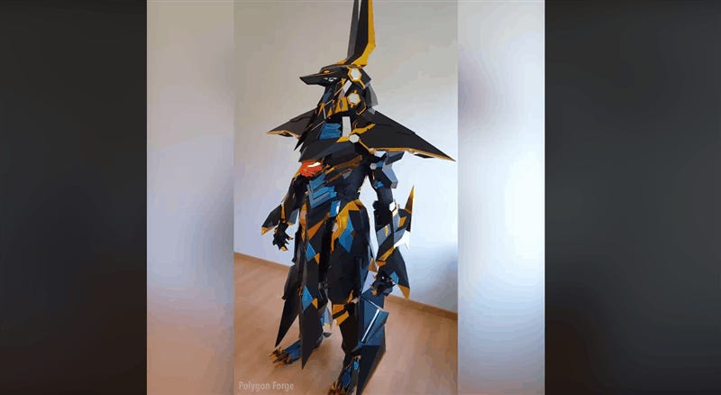 The Sharpest, Shiniest Cosplay