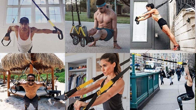 TRX Pro Suspension Trainer | $120 | Amazon