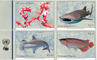 Illustration for article titled The UN Has Its Own Postal System And You Can Buy Its Awesome Stamps