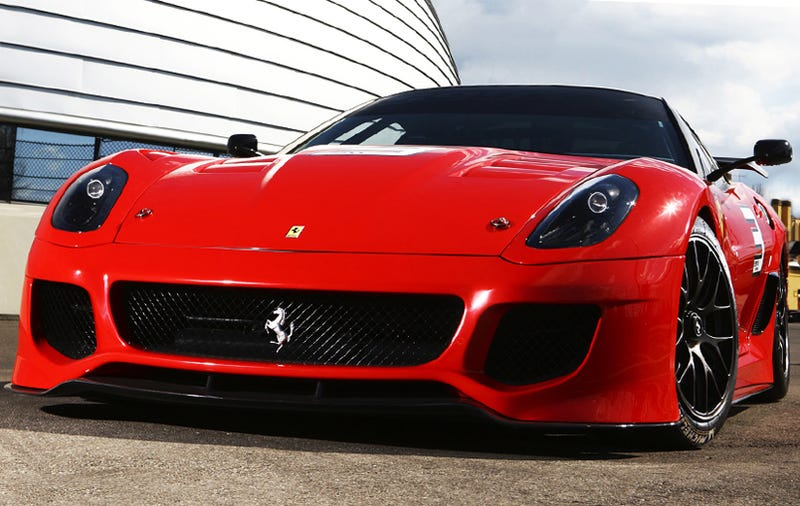 Illustration for article titled Ferrari 599XX Gets Up Close And Personal In New Glam Shots