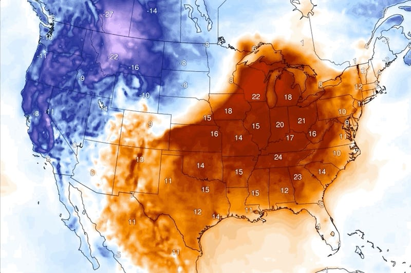 Weather Whiplash Is About to Hit the U.S.