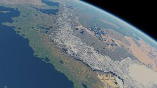 Illustration for article titled Recrean la Tierra Media en una simulación a escala real