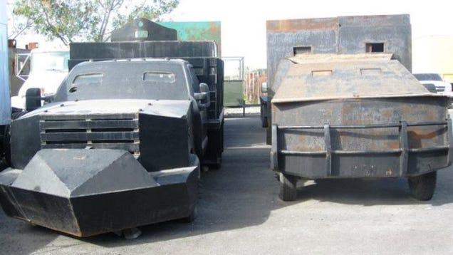 The Amazing DIY Monster Tanks Of Mexico's Narco-Vigilantes