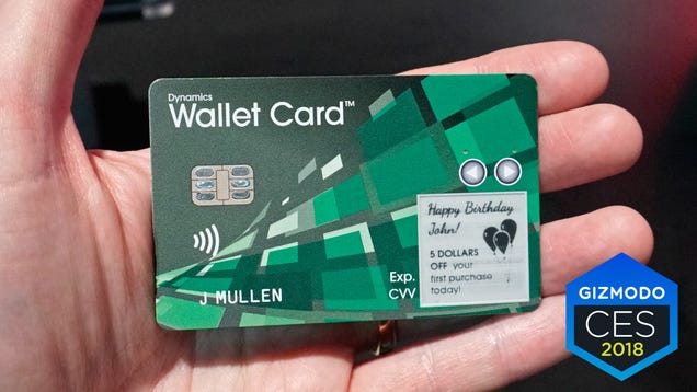 This Cellular-Connected Smart Credit Card Can Show You How Much Money You ve Got Left to Spend