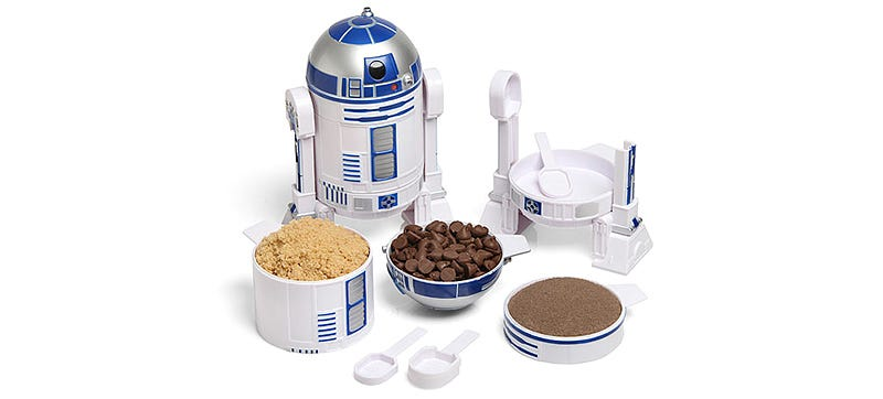 Illustration for article titled You'll Never Mess Up a Recipe When R2-D2 Does Your Measuring