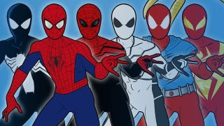 Illustration for article titled All Of Spider-Man's Costumes In One Perfect Infographic