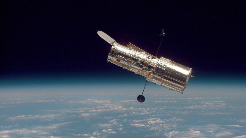 Illustration for article titled Why Hubble Has a Telescope Named After Him