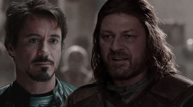 Illustration for article titled What if Ned Stark and Tony Stark were brothers?