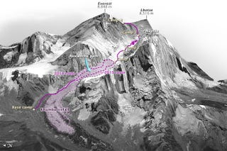 Illustration for article titled Everest's Modified Route Still Poses Deadly Challenges For Climbers