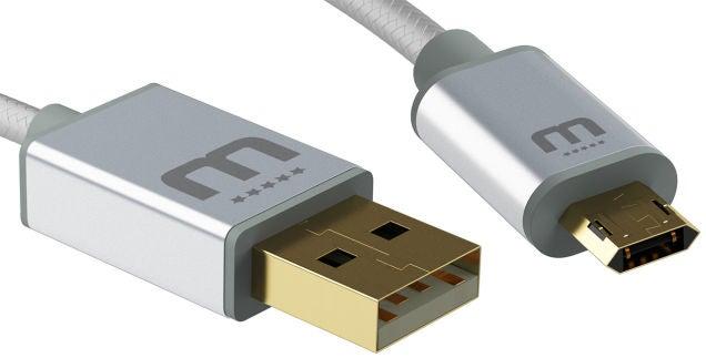 Con este cable nunca más volverás a equivocarte al conectar el MicroUSB