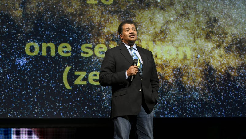 Neil deGrasse Tyson at the Onward18 Conference in New York City, Oct. 23, 2018.