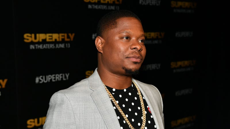 "Actor Jason Mitchell attends the special screening ""Superfly"" Atlanta at Columbia Pictures on June 7, 2018 in Atlanta, Georgia."
