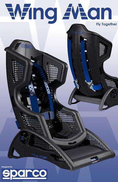 Illustration for article titled Design Student Creates Carbon Fiber Car Seat For Babies
