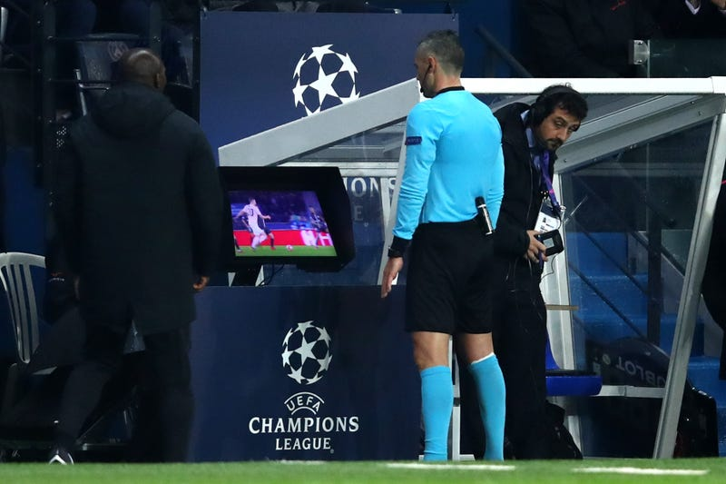 Illustration for article titled VAR Is Making A Mess Of The Champions League