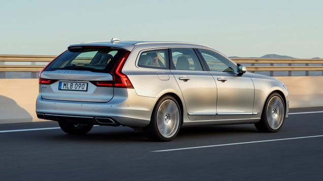 I mean I wish it was a V90, but more likely it'll be a XC90 if anything.