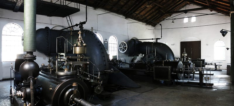Illustration for article titled Photo Essay: Inside a 120 Year-Old Steam Powered Water Pumping Station
