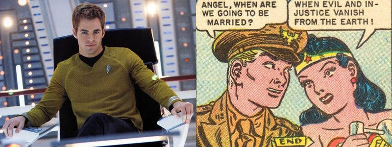 Illustration for article titled Chris Pine Joins the Wonder Woman Movie as Dude-in-Distress Steve Trevor