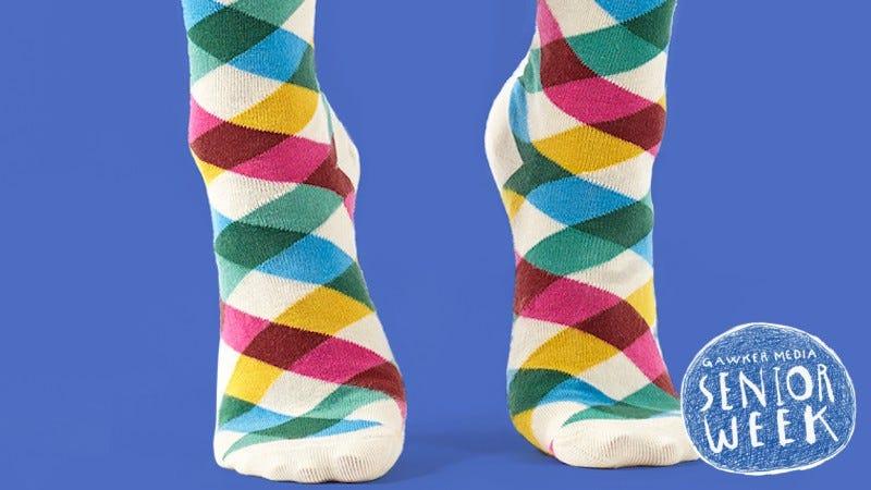 Image: Slack Socks from the Slack Shop