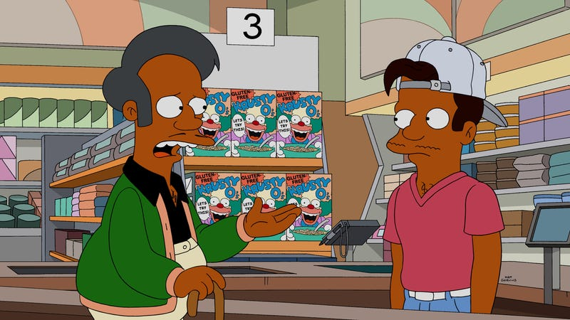Illustration for article titled Simpsons showrunner Al Jean still seems pretty sure there's no problem with Apu