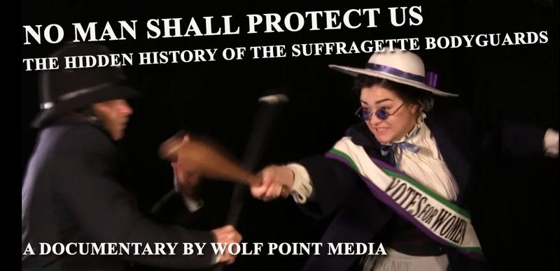 "Illustration for article titled ""No Man Shall Protect Us"": a New Documentary on the Secret Society of Suffragette Bodyguards"
