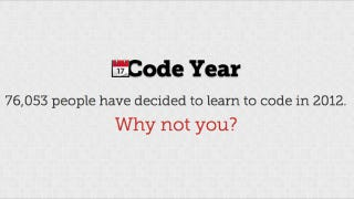 Illustration for article titled Learn to Code in 2012 with Free Weekly Programming Lessons from Codecademy