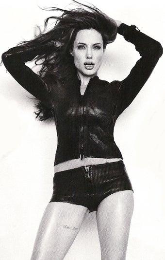 Angelina s Thigh-Tatto...