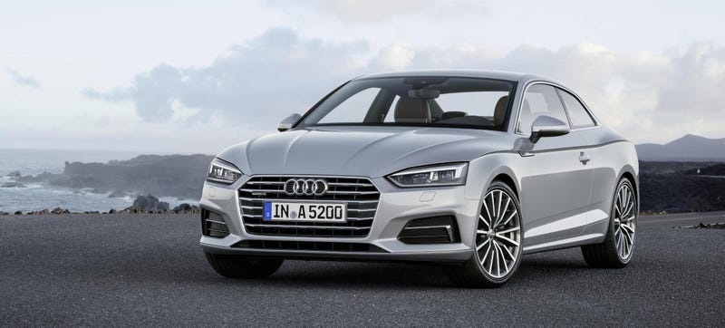 2018 audi with manual transmission. Unique Audi In Keeping With Audiu0027s Trends As Of Late The Updatedfor2018 Audi A5  Coupe Doesnu0027t Look That Much Different From Its Predecessor On Outside On 2018 Audi Manual Transmission