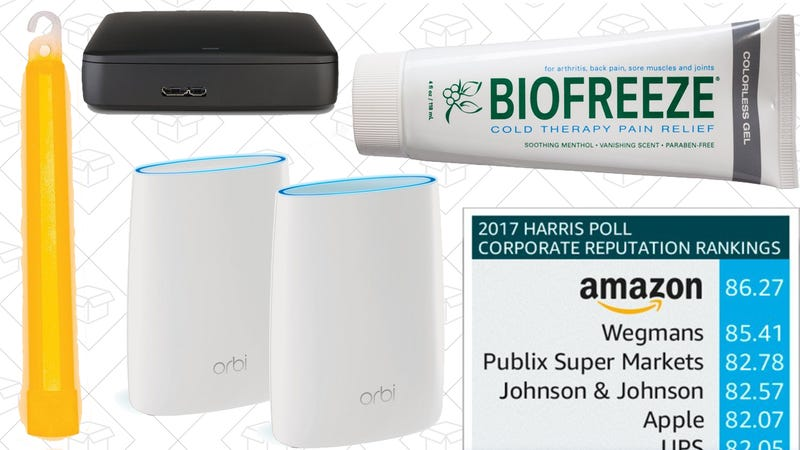 Illustration for article titled Today's Best Deals: Amazon Sitewide Discount, Mesh Wi-Fi, Marriott Mattress Pads, and More