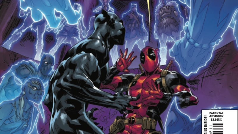 Illustration for article titled Black Panther Vs. Deadpoolenters its final round in this exclusive preview