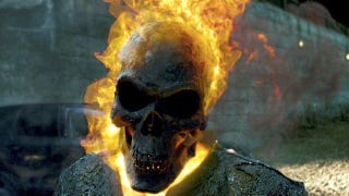 Illustration for article titled In Ghost Rider: Spirit of Vengeance, Nicolas Cage will eat your damn soul