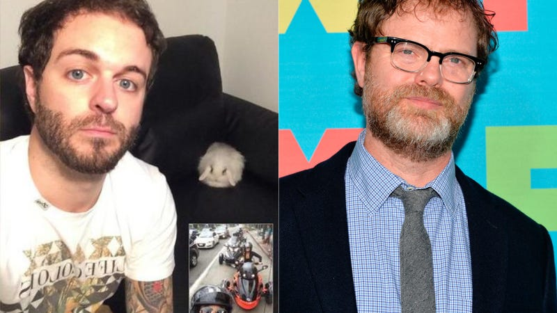 Illustration for article titled ​Rainn Wilson Drops Vine Star Curtis Lepore from Comedy Series