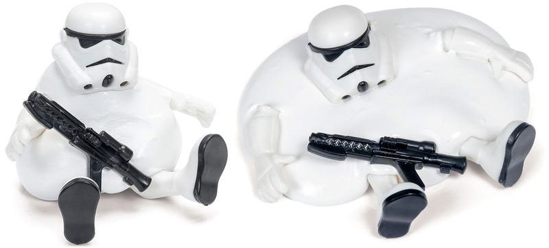 Illustration for article titled Melting Is Now One of Many, Many Terrible Ways a Stormtrooper Can Die