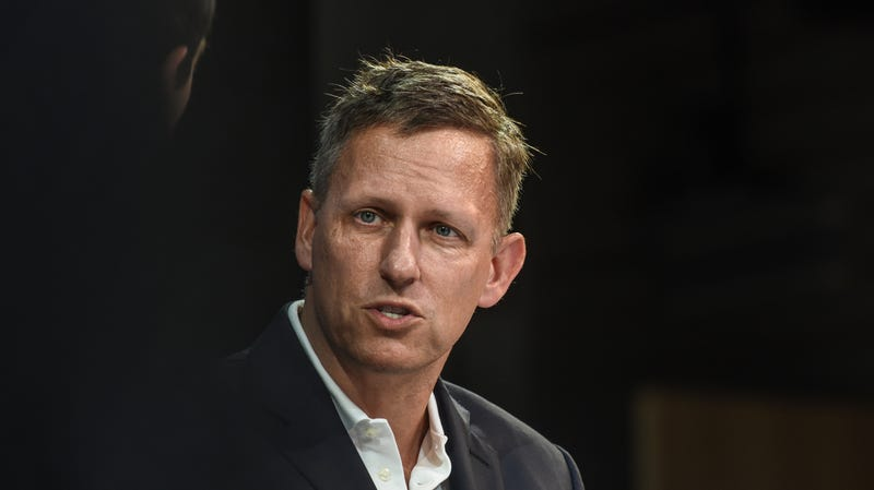 Peter Thiel, co-founder of Palantir