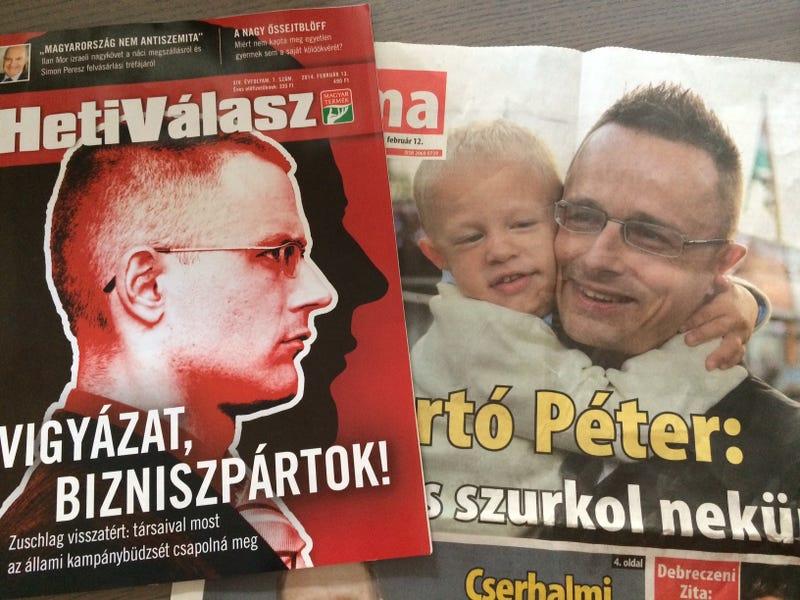 Illustration for article titled Leleplezés: Szijjártó Péter lényegében azonos Zuschlag Jánossal
