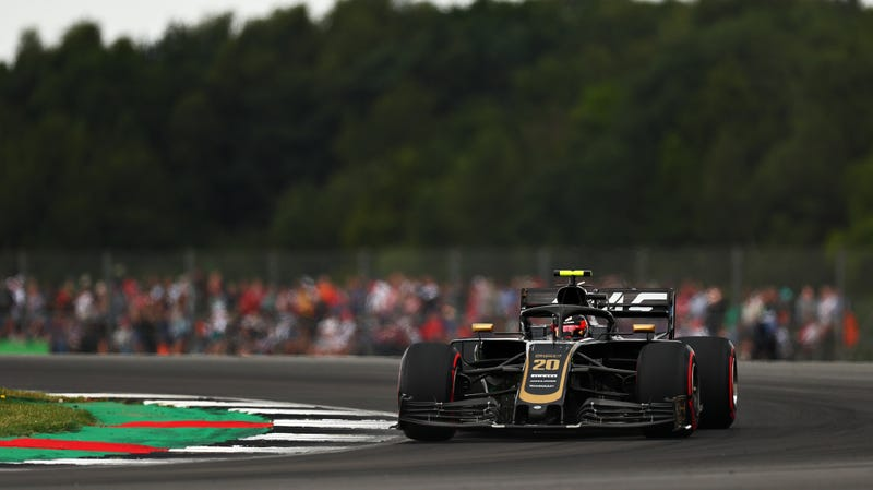 Haas driver Kevin Magnussen at the British Grand Prix.