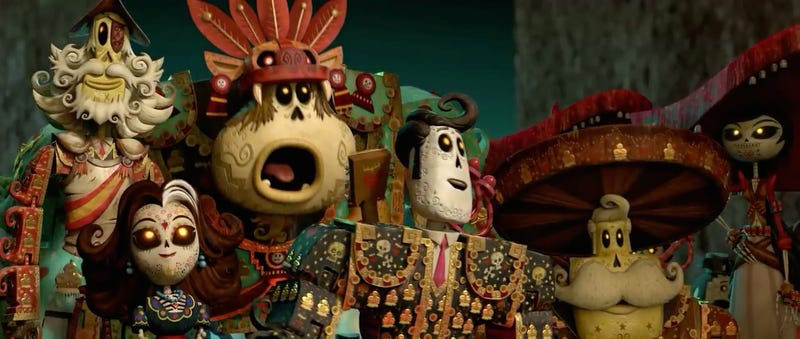 Illustration for article titled Book Of Life Teaches Us The True Meaning Of The Day Of The Dead