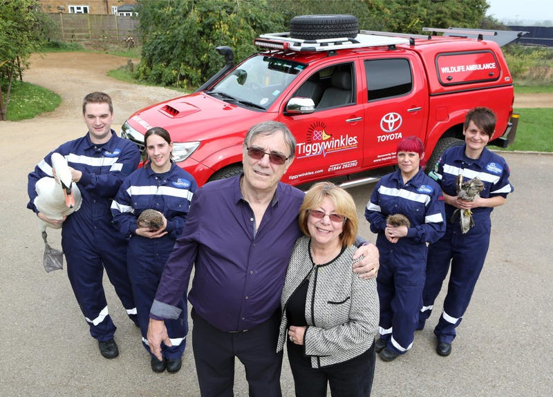 Illustration for article titled Tiggywinkles To The Rescue With New Hilux Ambulance