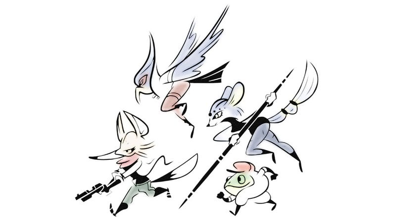 Illustration for article titled You've Never Seen Star Fox Like This Before
