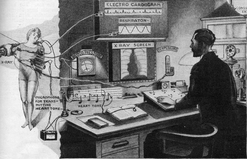Illustration for article titled How Telemedicine Has Already Surpassed Our Earliest Predictions