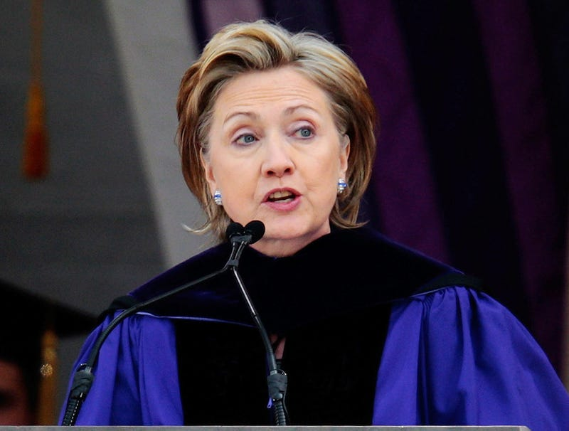 Illustration for article titled Clinton Receives 400,000 Honorary Degrees For College Commencement Speech