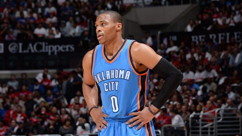 Illustration for article titled Russell Westbrook Will Be Out A While