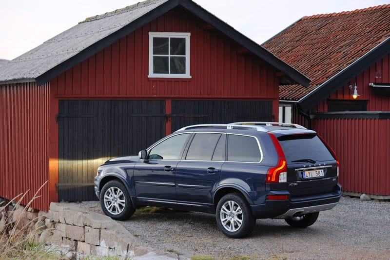 Illustration for article titled Latest of Happenings: 2012 XC90