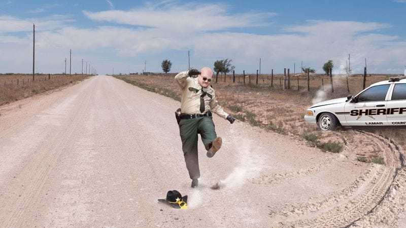 Illustration for article titled Nation's Outfoxed Sheriffs Shake Heads, Throw Hats In Dirt